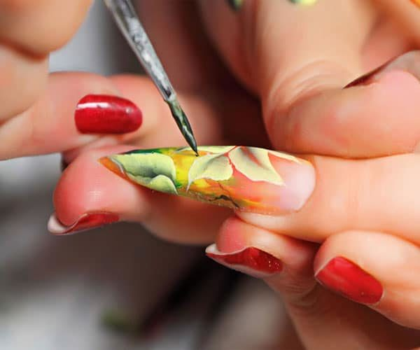 cours nail art one stroke